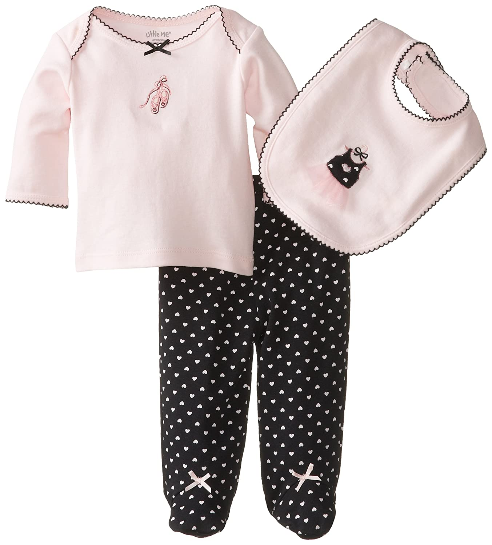 Little Me Baby-Girls Newborn Sweet Ballerina Lap Shoulder Set