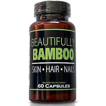 Amazon.com : Beautifully Bamboo Ultra Vitamin for Skin, Hair, and ...