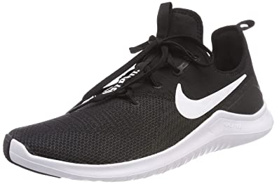 4b8367222d9 Nike Womens Free TR 8 Running Shoes Black White 5.5 B(M) US