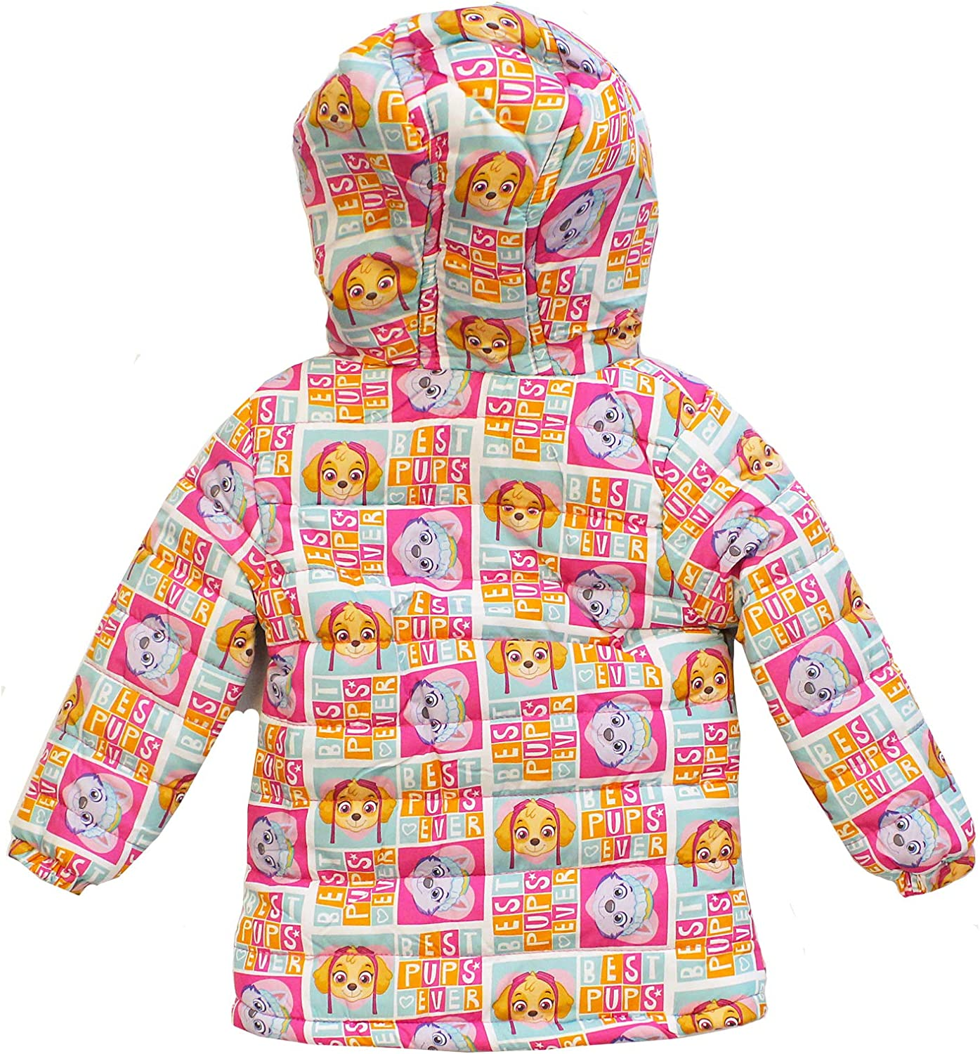 Licensed Girls Paw Patrol Winter Fleece Lined Coat Age 4 Years