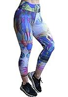 Sexy Workout Leggings, Cute Yoga Running Leggings 6107 Waterworld