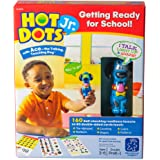 Educational Insights Hot Dots Jr. Getting Ready For School Set, 160 Lessons, Homeschool & School Readiness, Interactive Pen Included, Ages 3+