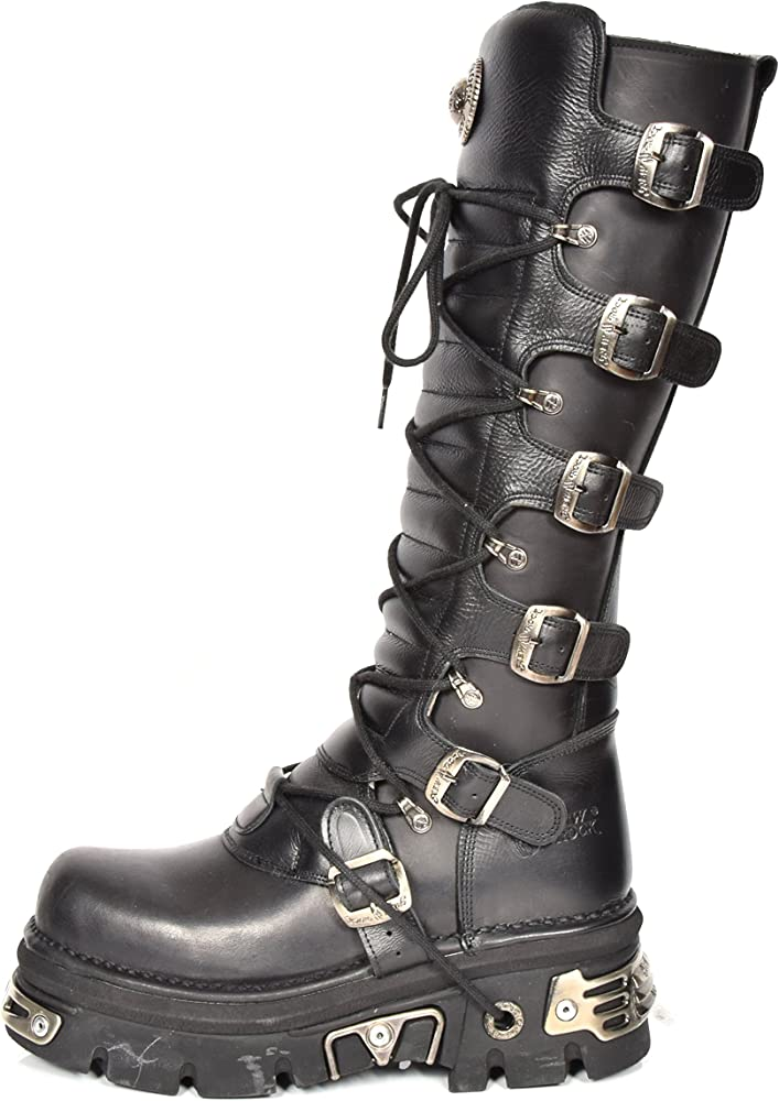 House Style Biker of Femmes Gothique New Bottes Luggage Rock zUMVpSqG
