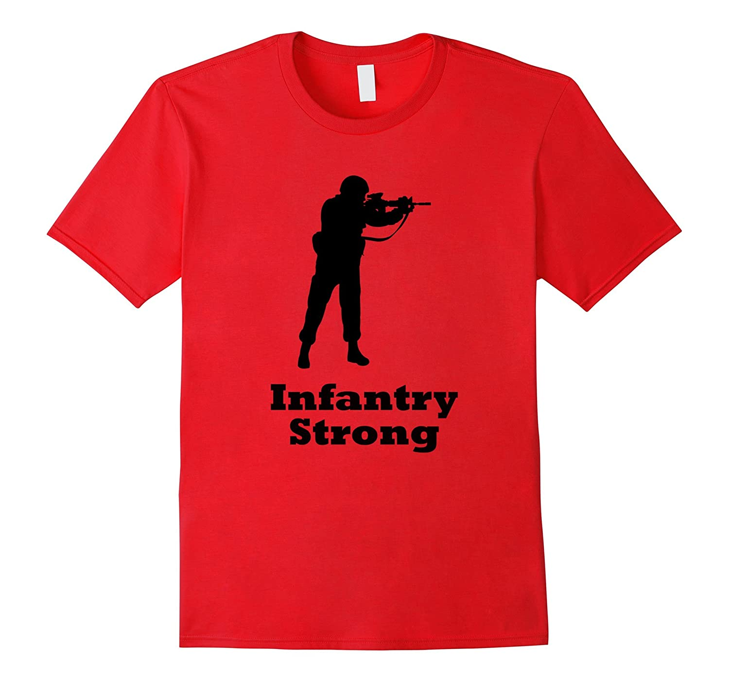 US Army Infantry Shirt - Infantry Strong Military T Shirt-Vaci