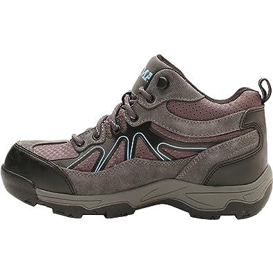 Amazon.com  Brahma Karen Women s Grey Steel Toe Work Boots (7 (M) US ... 1c43b7beb5