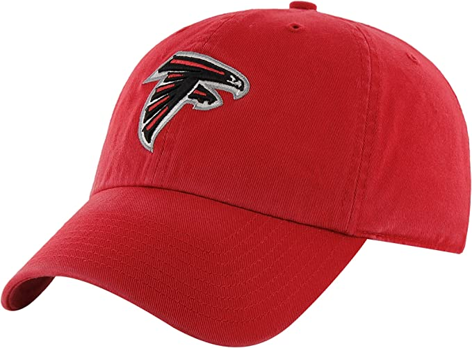 buy popular separation shoes look out for Amazon.com : NFL Atlanta Falcons Men's Clean Up Cap, Red, One Size ...