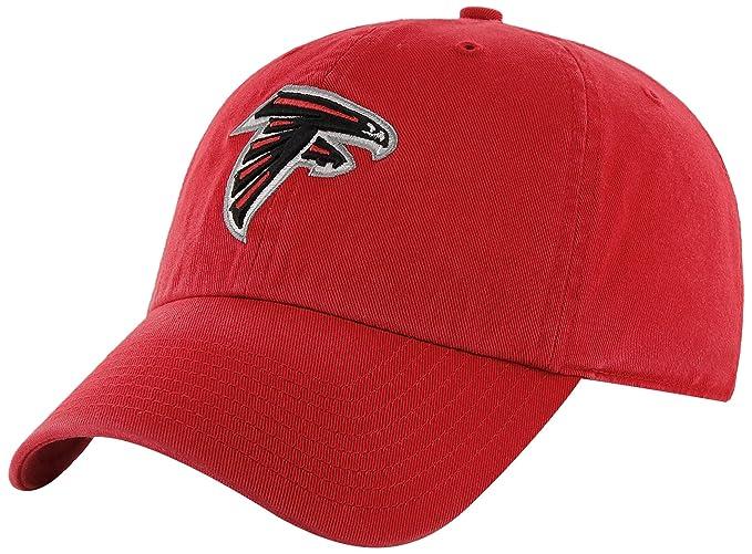 83459abec Amazon.com : NFL Atlanta Falcons Men's Clean Up Cap, Red, One Size ...