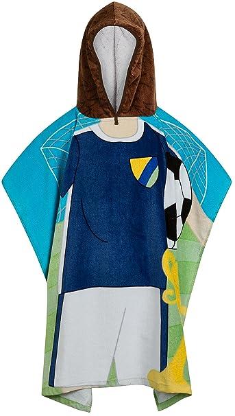 Calidad 100% algodón infantil de natación con cierre ajustable toalla de baño Poncho con capucha, 7 Designs: Amazon.es: Ropa y accesorios