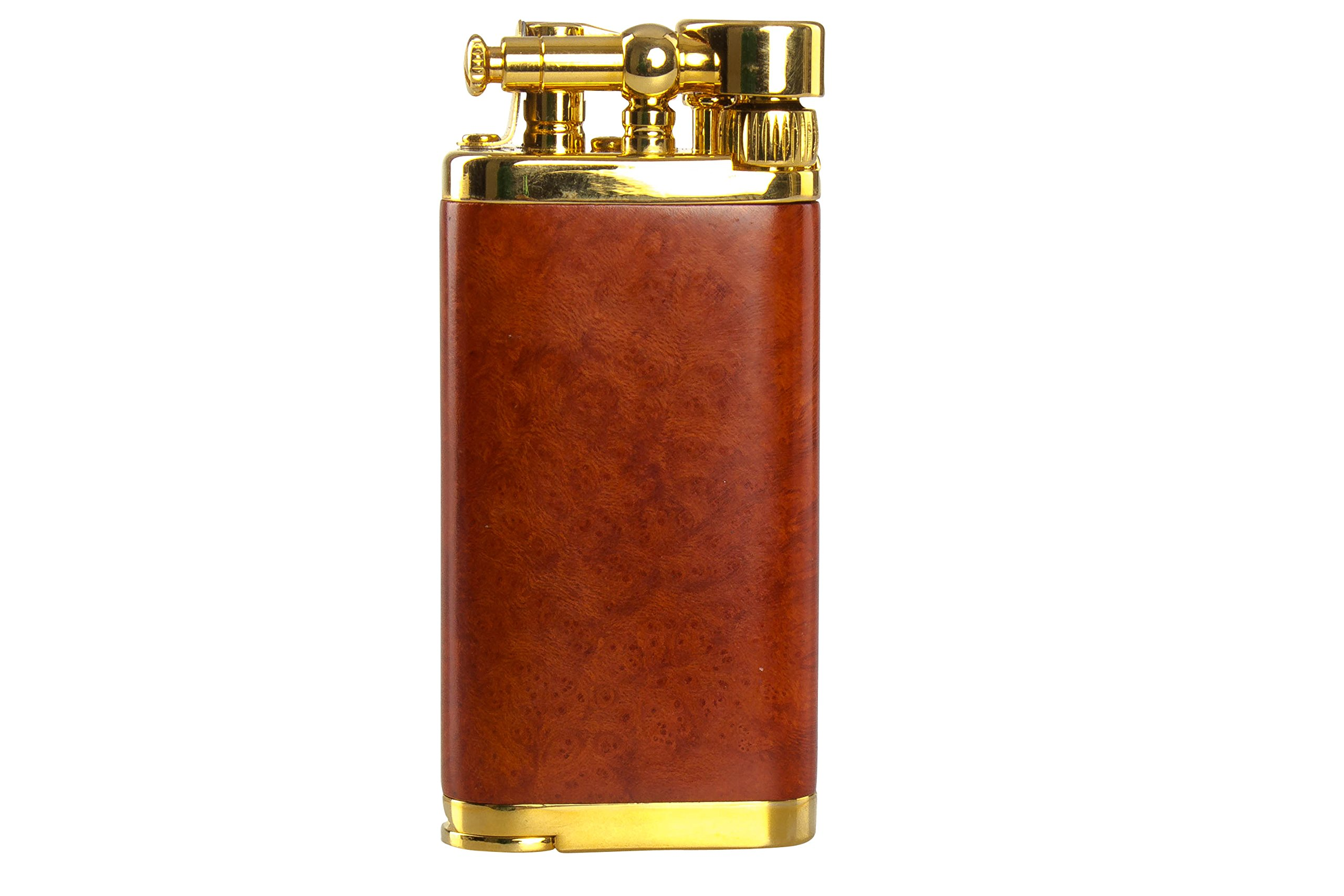 IM Corona Old Boy Gold And Natural Smooth Briar Pipe Lighter by IM Corona (Image #1)