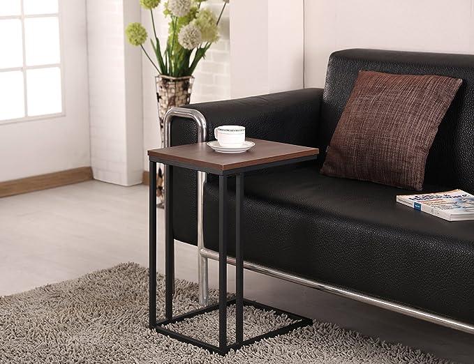 Amazon.com: Mesa auxiliar fivegiven Toque Moderno para salón ...