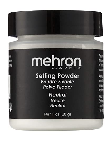 mehron UltraFine Setting Powder with Anti-Perspriant - Neutral by Mehron