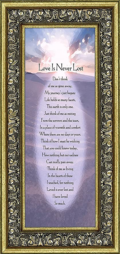 Amazon Frames Of Mind Love Is Never Lost In Remembrance Gifts
