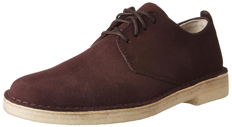 Clarks Oxford Desert London Oxford Clarks Shoe 45 EU|Burg Suede ff82ca