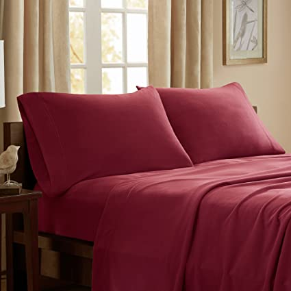 Exceptional Peak Performance 3M Scotchgard Micro Fleece Twin Bed Sheets Set, Casual  Micro Bed Sheets Twin