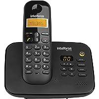 Telefone sem Fio Digital com Secretária Eletrônica, intelbras, TS 3130, Preto