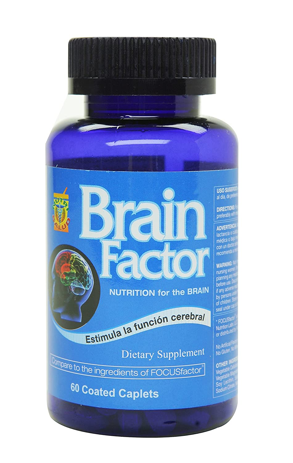 Amazon.com: Brain Factor Vitaminas para el cerebro, mejoran la ...