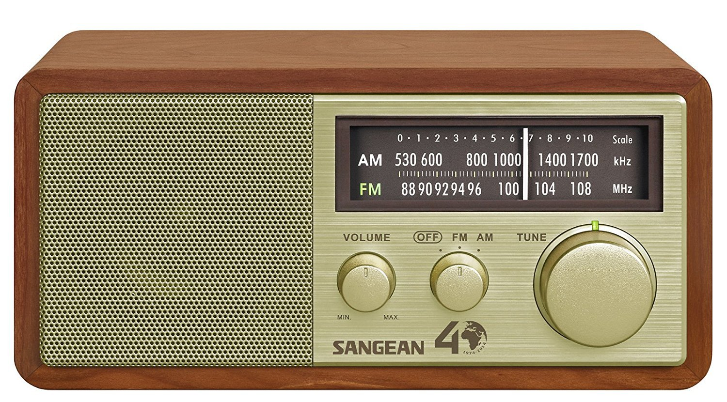 Sangean WR-11SE AM/FM Table Top Radio 40th Anniversary Edition (Renewed)