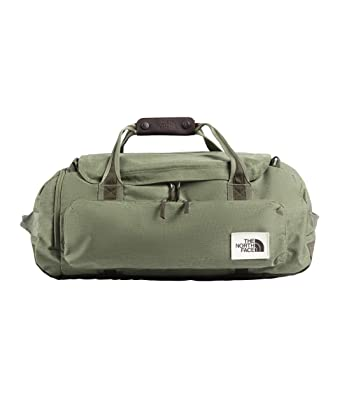 7e2f3a4616 The North Face Unisex Berkeley Duffel ¿ Medium Four Leaf Clover Dark  Heather/New Taupe