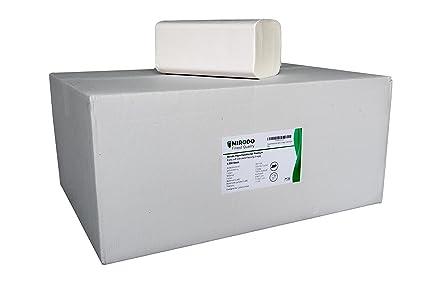 Papel Toalla Alto Blanco Extra Suave Nacido. ZZ veces y húmedo fijo Premium 2 capas
