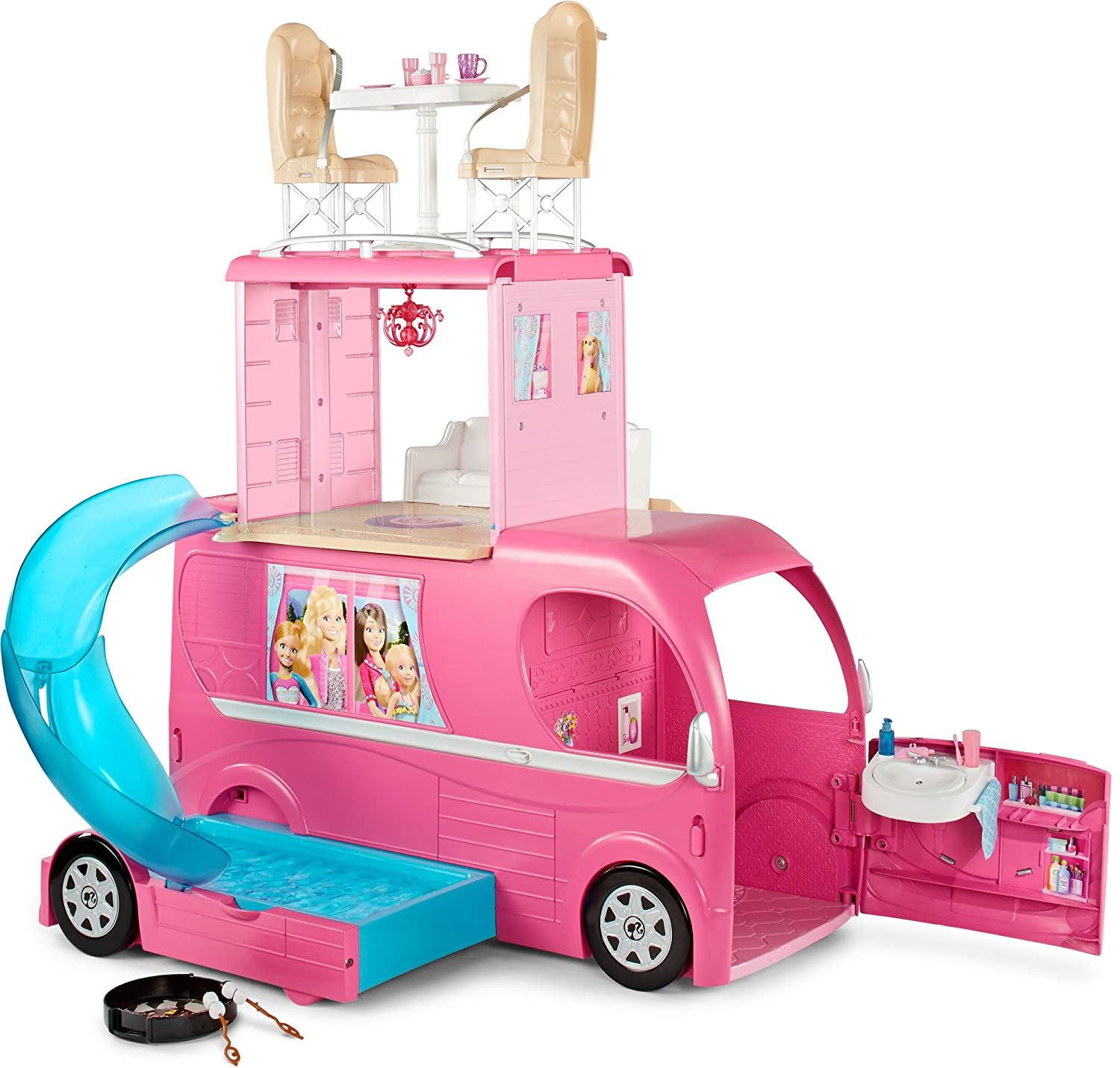 Barbie Pop-Up Camper Vehicle CJT42