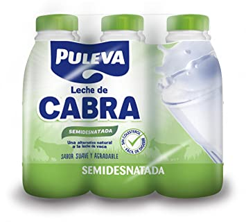 Puleva Leche de Cabra Semidesnatada - Paquete de 6 x 1000 ml - Total 6000 ml: Amazon.es: Amazon Pantry