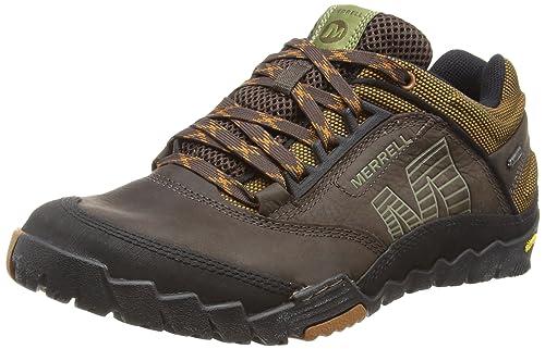 Merrell Annex Gore-Tex, Zapatos de Low Rise Senderismo para Hombre, Dark Earth, 40 EU: Amazon.es: Zapatos y complementos