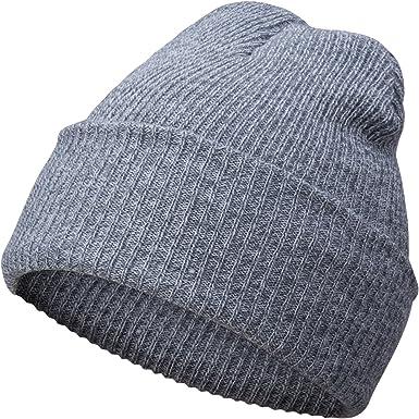 A.P. Donovan - Gorro de Invierno en algodón | Sombrero del Invierno Hizo Punto el Sombrero | Gorro de Lana Beanie Hombre (Gris Claro): Amazon.es: Ropa y accesorios