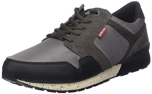 Levis NY Runner 2.0, Zapatillas para Hombre, Marrón (Brown 28), 40