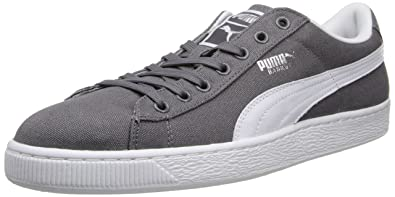 2e9707deb80c PUMA Men s Basket Classic Canvas Sneaker