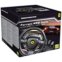 Thrustmaster Ferrari 458 Xbox 360 Italia Wheel, color negro - Standard Edition