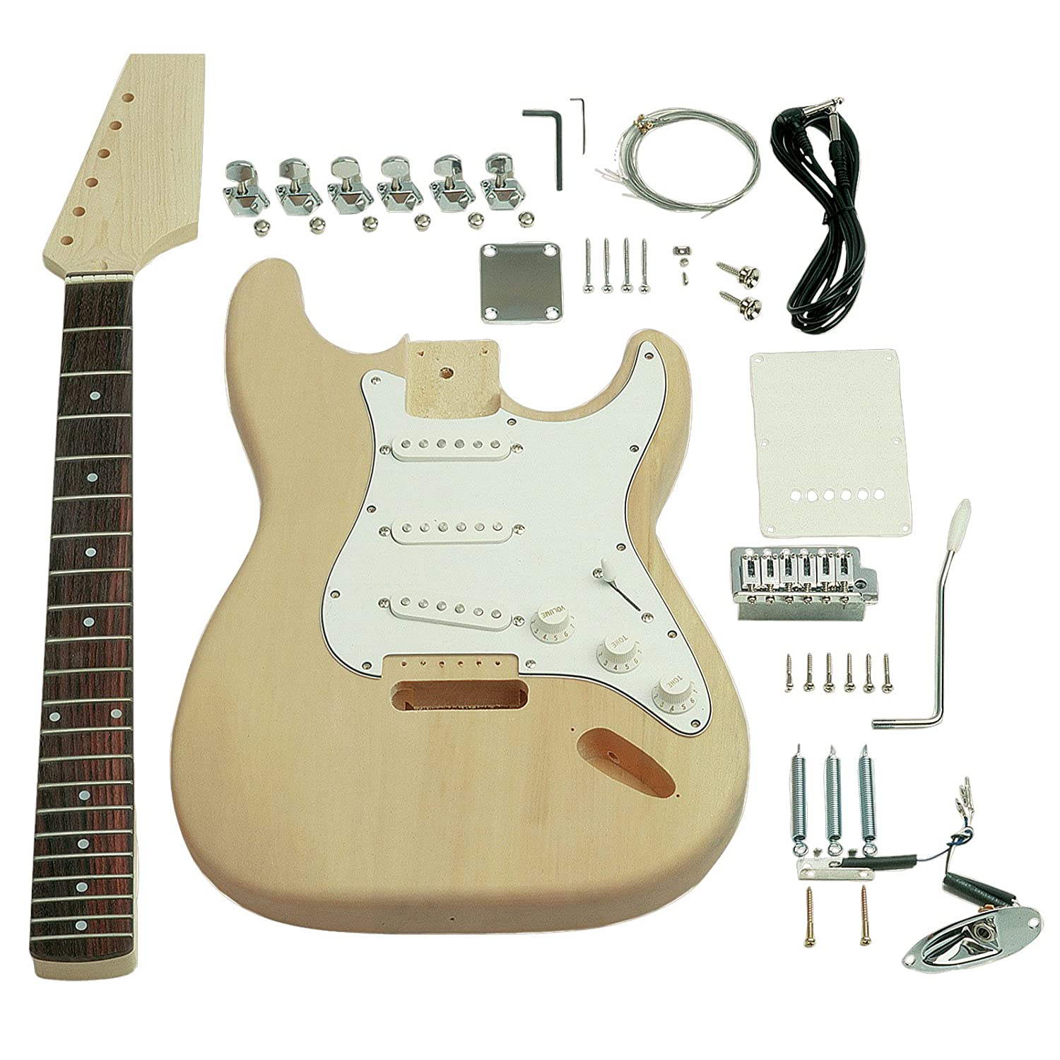 amazon com saga st 10 electric guitar kit s style musical rh amazon com