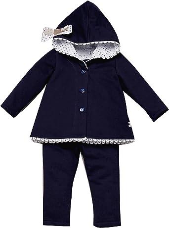 CHANDAL niña bebé OLIVIA _ chandal niña invierno, chandal niña bebe capucha, chandal niña bebé algodón, chandal niña bonito: Amazon.es: Ropa y accesorios