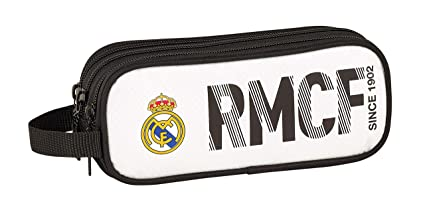 Amazon.com: Real Madrid 2018 Pencil Cases, 21 cm, White ...