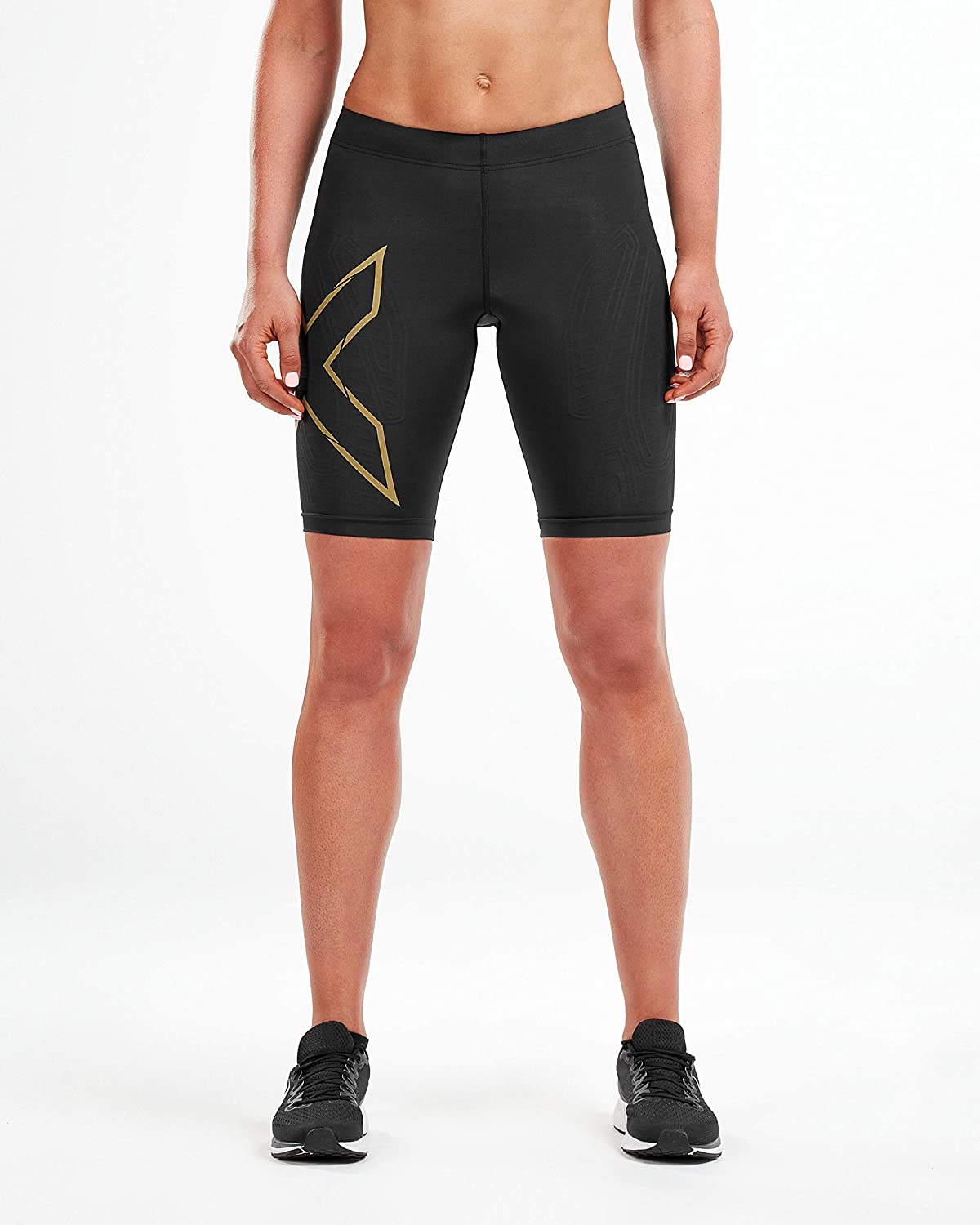 2XU Damen MCS Run Compression Shorts Wa5334b Strumpfhose