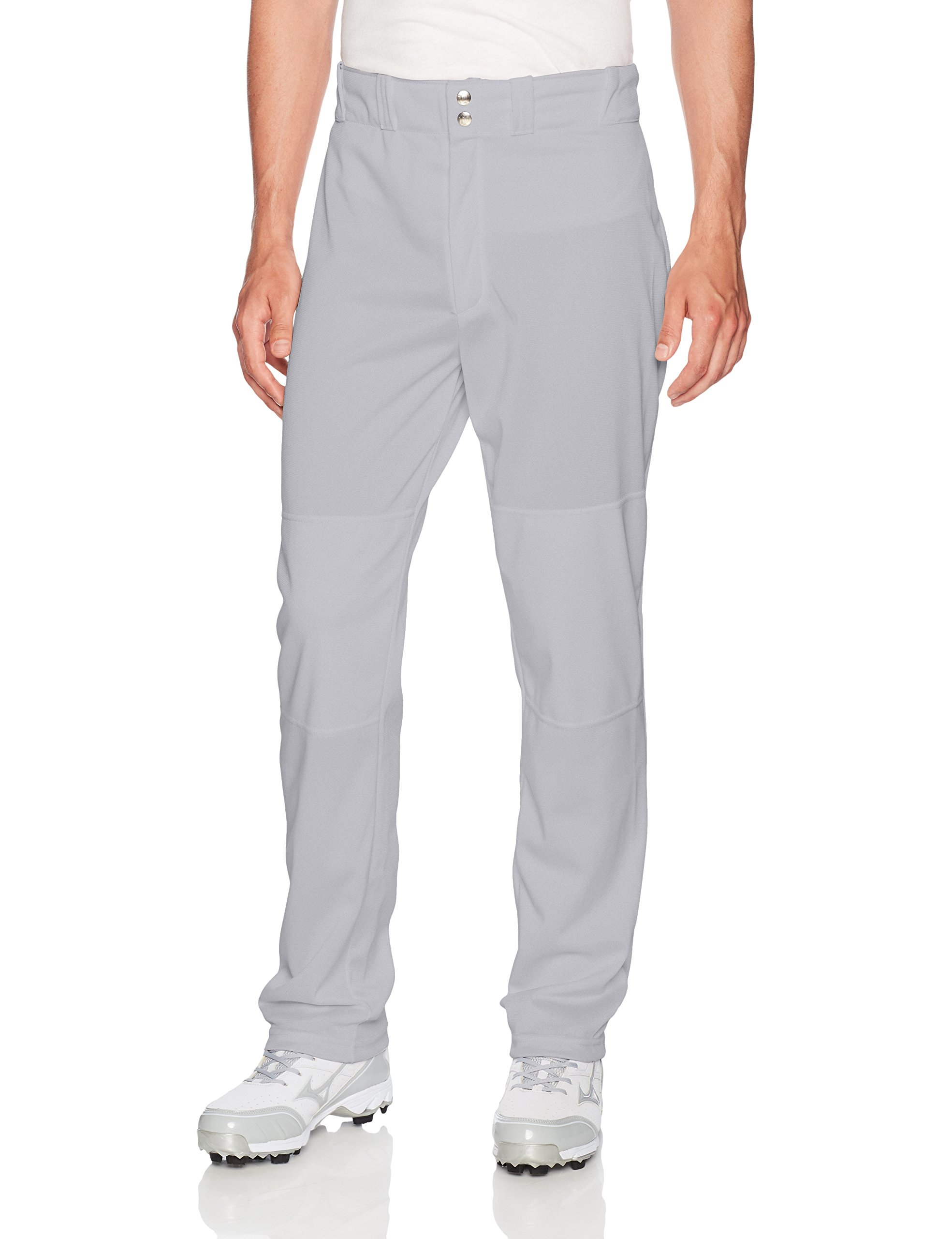 Wilson Men's Classic Relaxed Fit Baseball Pant, Grey, XX-Large by Wilson