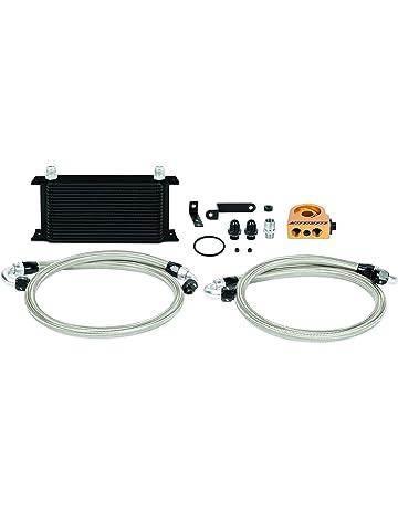 mishimoto mmoc-sti-08tbk termostático Kit de enfriador de aceite, color negro