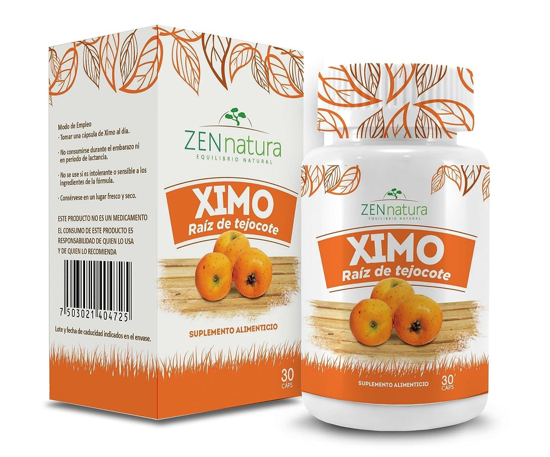 Amazon.com: Zen Natura Te de Raiz de Tejocote y Ximo Capsulas de Raiz de Tejocote Set.: Health & Personal Care