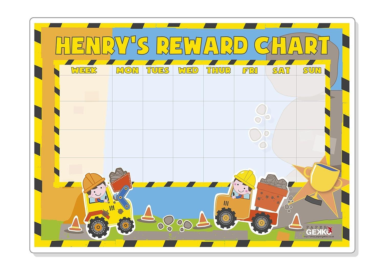 reusable reward chart