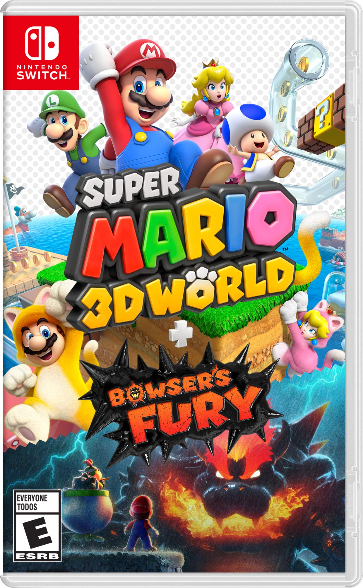 Poster. Super Mario 3D World + Bowser's Fury