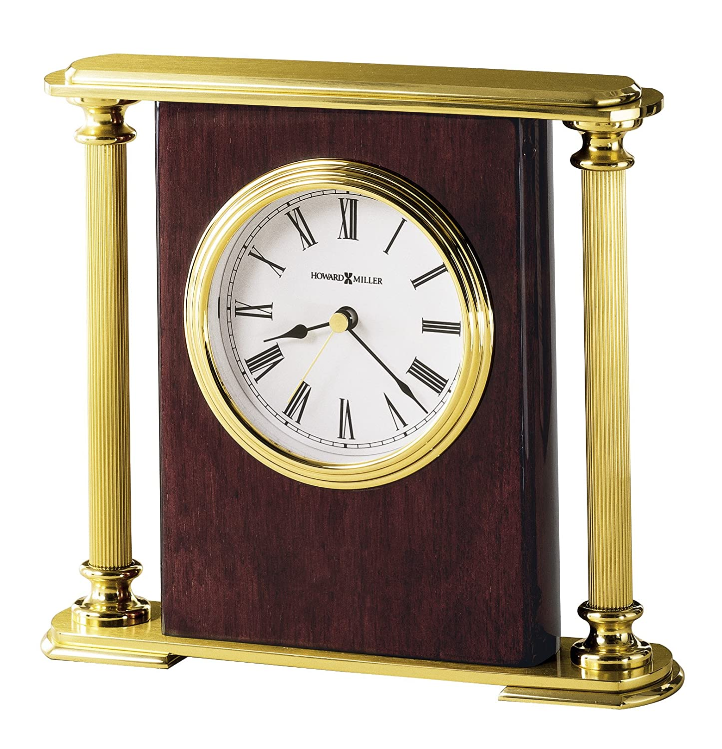 Amazon.com: Howard Miller 645 104 Rosewood Encore Bracket Table Clock By:  Home U0026 Kitchen