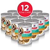 Hill's Science Diet Canned Wet Dog Food, Adult, Perfect Weight for Weight Management, Chicken & Vegetable Recipes, Pack of 12