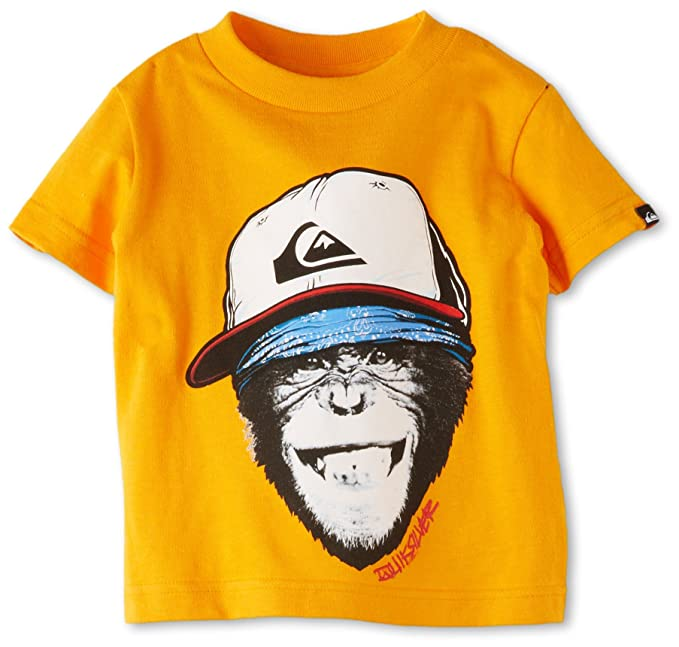 Amazon.com: Quiksilver Baby Boys Monkey Business T Shirt ...