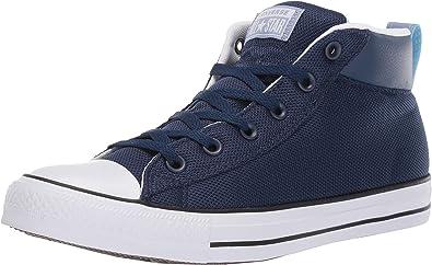 Star Street Leather Mid Top Sneaker