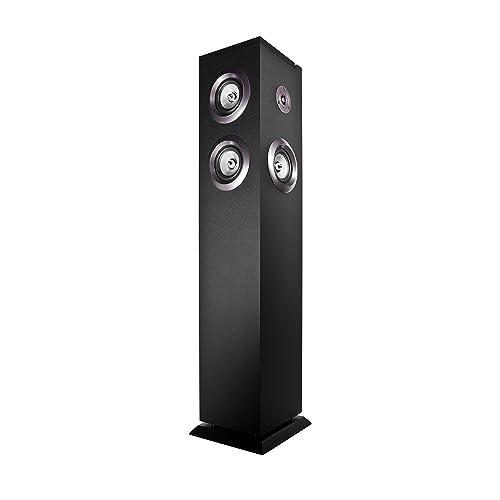Energy Sistem Tower 8 Equipo de Home Cinema Bluetooth panel táctil RMS 100 W USB FM negro