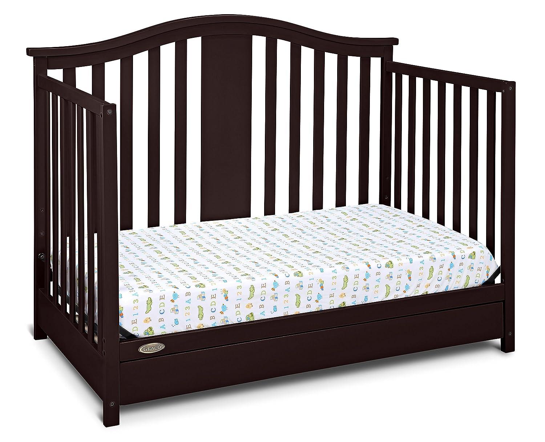 Amazon.com : Graco Solano 4-in-1 Convertible Crib with Drawer, Espresso :  Baby