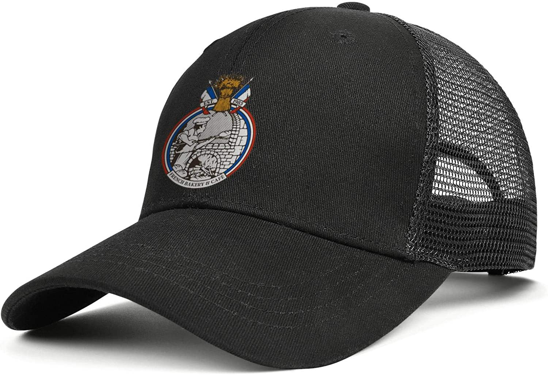 Wudo Unisex La Madeleine Logos Hat Pretty Trucker Hat Baseball Cap Adjustable Cowboy Hat