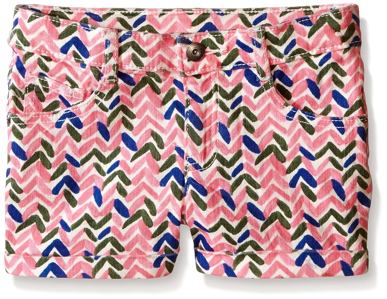 Crazy 8 Girls Printed Woven Cuff Short
