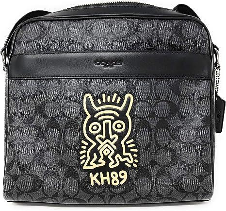 Coach Keith Haring Charles Sac à bandoulière en toile avec