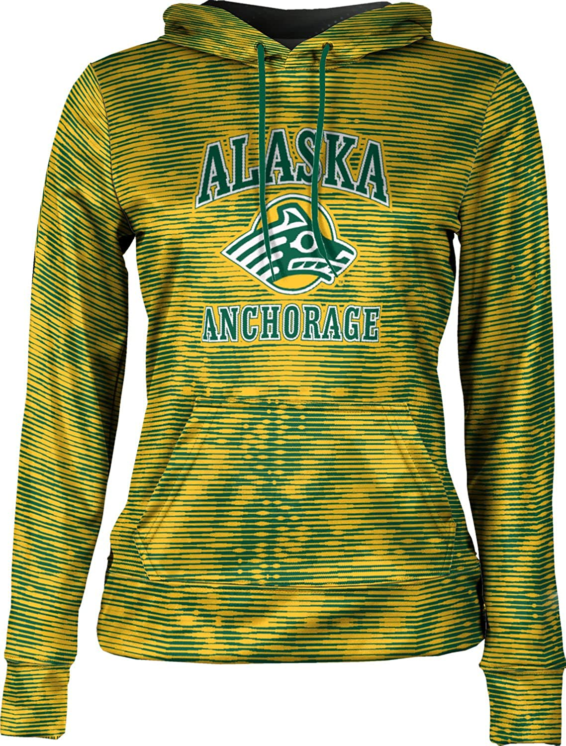School Spirit Sweatshirt ProSphere University of Alaska Anchorage Girls Pullover Hoodie Velocity