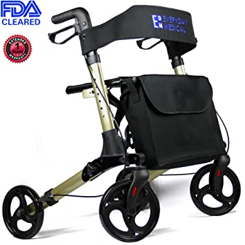 Amazon.com: Everyday Medical Heavy Duty andador rollator ...